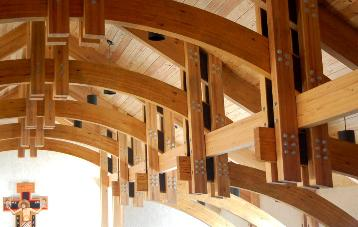 Hermitage for Clerestory roof truss design